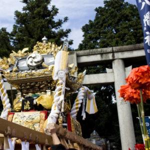 秋祭り宮入