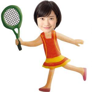 テニスサークル女子