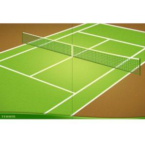 テニス背景