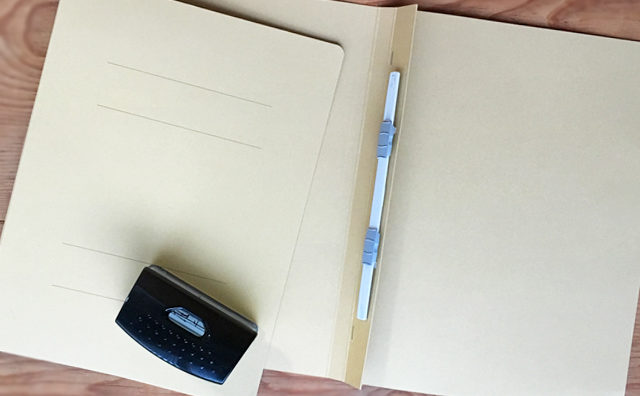 プリント整理の道具