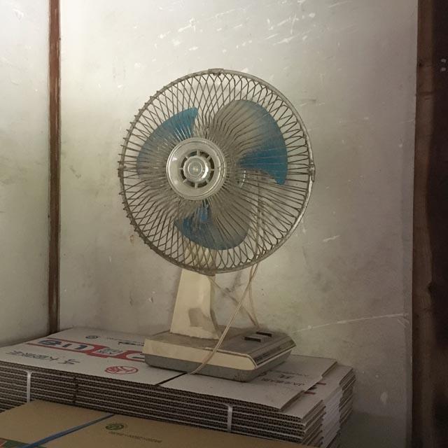 おばぁちゃん家の扇風機
