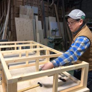 木工職人_作業風景