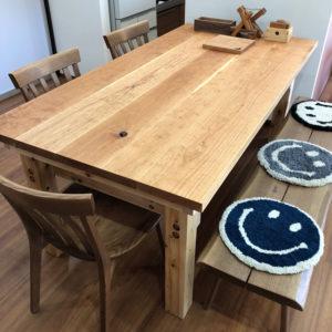 木工職人_作品テーブル