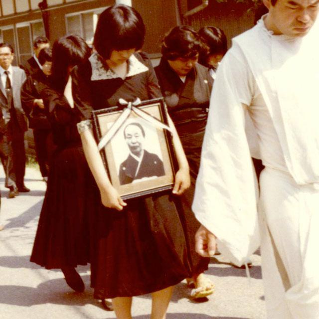 祖母の葬式
